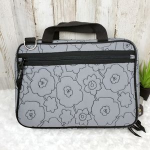 Thirty-One Quilted Poppy Cosmetic Toiletry Bag